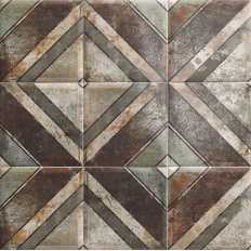diagonal  tin-tile mainzu